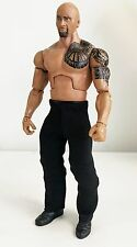 NOX-PT2: FIGLot Fabric Black Pants for Mattel Wrestling or DST Wolverine Figure