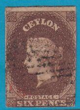CEYLON 7 NO FAULTS CV 575.00 VERY FINE !