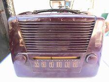 Antikes Röhren Kofferradio Marke Philco Transitone 49-602 Jahr 1949