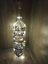Harry Potter Light up bottle, gift, present, unique
