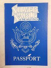 1991 MARVEL Comics PROMO ~ SILVER SABLE & The Wild Pack Passport ~ SPIDER-MAN