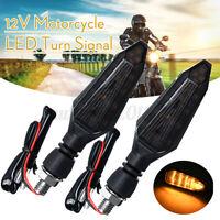 2x 15 Led Indicatori Di Direzione Per Moto Luce Frecce Impermeabile Universale