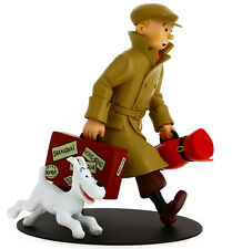 "Figur Tim mit Struppi ""Heimkehr"" / Tintin Model ""Homecoming"" (Moulinsart 46948)"