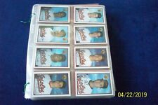 1989 BOWMAN COMPLETE 484 CARDS BASEBALL SET IN PLASTIC PAGES KEN GRIFFEY JR R.C.
