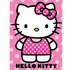 """Hello Kitty """"Dot"""" Throw  46"""" x 60"""""""
