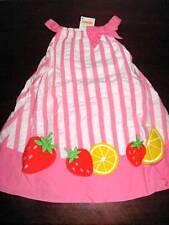New Gymboree Strawberry Sweetheart white pink sundress girls 12-18 m