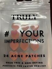 ��Truly - #Heart Your Imperfections Acne 24 Patches. New In Sealed Package.��