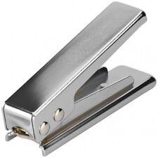 SIM-Karten Stanze SIM auf Nano-SIM silber Cutter Zange Schneider von goobay