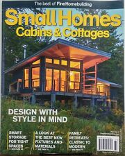 Small Homes Cabins & Cottages Fall 2017 Design With Style FREE SHIPPING sb