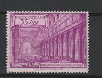 FRANCOBOLLI - 1949 VATICANO BASILICHE L.35 MNH  E/1901