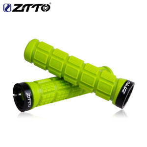 ZTTO Al Alloy&Rubber Handlebar Grips BMX MTB Mountain Bike Lock on Bicycle Grips