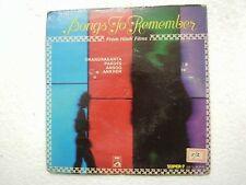 SONGS TO REMEMBER SUPER 7 ansoo chandrakanta HINDI FILM SONG EP RECORD 1975 EX