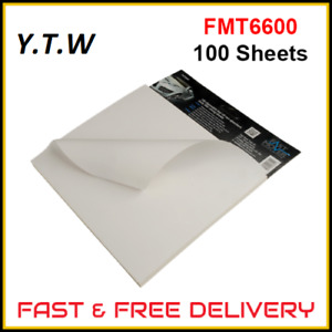 Fast Movers Onion Board for Bodyfiller Repair Mixing Sheets x 100