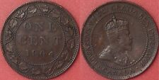 Very Fine 1904 Canada Large 1 Cent