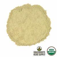 Organic Sage Leaf, Powder (Salvia officinalis)