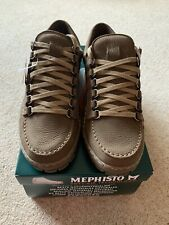 Mephisto Rainbow Mens Brown Taupe Sport buck Shoes Size UK 9