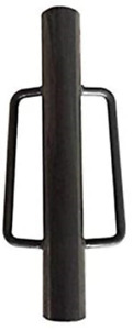 MTB Fence Post Driver with Handle, 18LB Grey. Your Best Garden Partner!