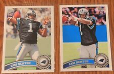 CAN NEWTON 2011 TOPPS ROOKIE CARDS # 200 REGULAR & PHOTO VARIATION