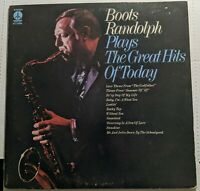 Boots Randolph Plays The Greatest Hits of Today 1972 Stereo Monument Record Corp