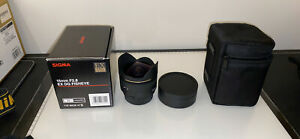 Sigma 15mm f2.8 Fisheye (Nikon) - Mint Condition (Flawless)