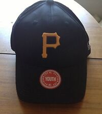 PIRATES * YOUTH BASEBALL HAT * TEAM MLB * OFFICIAL LICENSEE OF MLB * NWT