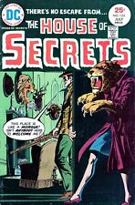 The House of Secrets #133  DC BRONZE AGE HORROR 1975- BRIGHT COVER-NO RESERVE!!