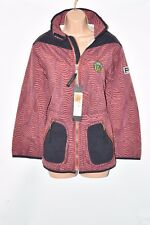 New Red Black Nylon PROTEST Winter Ski Snow Board Women's Coat Jacket Size M