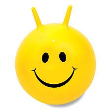 Happy 60cm jaune SMILER rétro BALLON SAUTEUR - Jaune visage souriant en boîte