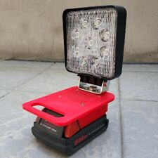 Milwaukee 18V LED Work Light / Torch / Camping Light Battery Adapter With Switch
