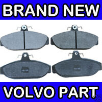 Volvo 700, 740, 760, 900, 940, 960 Front Brake Pads  (Girling, w/o ABS)