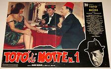 fotobusta originale TOTO' DI NOTTE N°1 Totò Macario 1962 #2 mondo movie