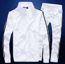 Fashion Men's Zippered Sports Running Suits Long Pants Casual Sweatsuits Jackets