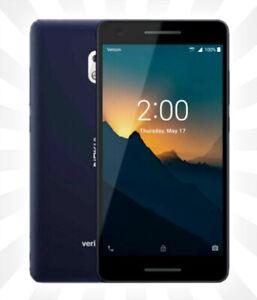 Verizon ✔️ Prepaid Nokia 2 V w/ 8GB Memory Prepaid Cell Phone Blue/Silver NEW