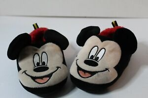 Mickey Mouse slippers size 9-10 toddlers