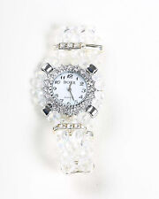 Stunning Clear Crystal Watch