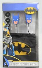 Sakar DC Comics Batman Ear Buds with Pouch New in Box