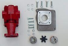 Oil transfer Pump Kit Gas Powered Gear Pump 24 GPM Biodiesel, Oil, Waste Oil