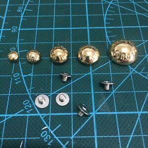 Round Dome Purse Feet Studs Bottom Fixing Screw Hardware Bag Accessories Craft