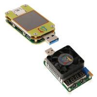 35W Konstantstrom, Elektronische Last + USB 3.0 Typ C Voltmeter