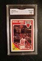 💥 GEM MINT 10 💥 1989 Fleer Basketball Michael Jordan #21 PSA and BGS caliber!