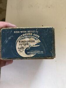RARE OCEAN CITY WANITA 35 FLY REEL WITH BOX