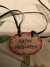 Longaberger Happy Halloween Basket Tie-On