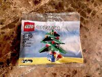 LEGO Creator 30009 Christmas Tree Polybag New Sealed Free Shipping  - Retired