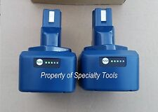 2 x Huskie BP-84 Lithium-Ion 14.4V Li-Ion battery for Robo crimper cutter tool