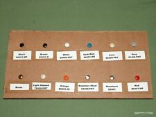 "Leviton 5/16"" Wall Plate Screws - 20pcs - Rare Colors Available - See Variety!"