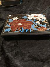 Vintage Eighties Plastic Jewellery Box