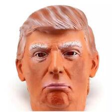 Donald Trump Costume Mask Halloween Realistic Latex Masquerade Carnival Mask