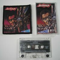 SCANNER Hypertrace Lot - Rare First Press 1988 Cassette Tape EX (Tested) & Patch