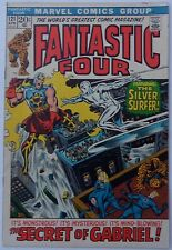 Fantastic Four #121 (Apr 1972, Marvel), VFN, Silver Surfer cover & story