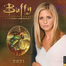 Buffy the Vampire Slayer Tv Series 12 Month 2021 Wall Calendar New Sealed